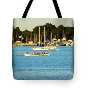 New Bedford Pier Tote Bag