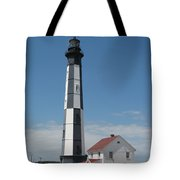 New Cape Henry Lighthouse Tote Bag