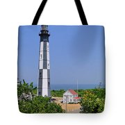 New Cape Henry Lighthouse Vertical Tote Bag