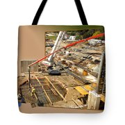 New Commercial Construction Site 02 Tote Bag