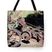New Crop Antiquated Plow Tote Bag