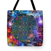 New Earth Rising Tote Bag