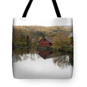 New England Autumn Two Tote Bag