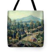 New England Birches Tote Bag