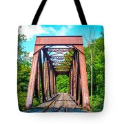 New England Bridge Tote Bag
