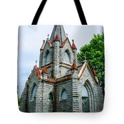 New England Cemetery Mausoleum Tote Bag
