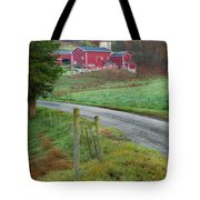 New England Farm Tote Bag by Bill Wakeley