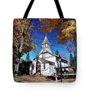 New England In New Jersey Tote Bag
