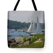 New England Seascape Tote Bag