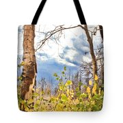 New Generation - Mixed Media - Casper Mountain - Casper Wyoming Tote Bag
