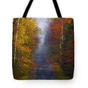 New Hampshire Back Road Tote Bag