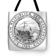 New Hampshire State Seal Tote Bag