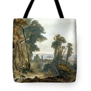 New Harmony On The Wabash, Plate 2 Tote Bag
