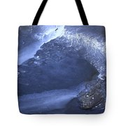 New Ice Blue Tote Bag