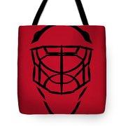 New Jersey Devils Goalie Mask Tote Bag