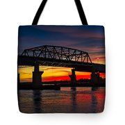 New Jersey Meadowlands Sunset Tote Bag