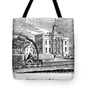 New Jersey Rahway, 1844 Tote Bag