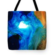 New Life - Abstract Landscape Art Tote Bag