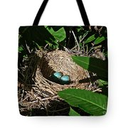 New Life - Robin's Nest Tote Bag
