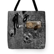 New Lock On Old Door 2 Tote Bag