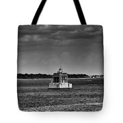 New London Shelf Light Black And White Tote Bag