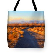 New Mexico Back Country Road Tote Bag