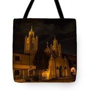 New Mexico Church Night Tote Bag