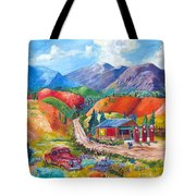 New Mexico Colors Tote Bag