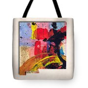 New Mexico Map Art - Painted Map Of New Mexico Tote Bag