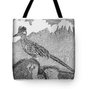 New Mexico Roadrunner Tote Bag