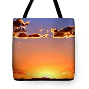 New Mexico Sunset Glow Tote Bag