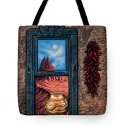 New Mexico Window Gold Tote Bag