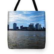 New Orleans - Skyline Of New Orleans Tote Bag
