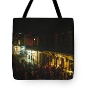 New Orleans: Bourbon Street Tote Bag