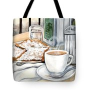 New Orleans Cafe Du Monde Tote Bag