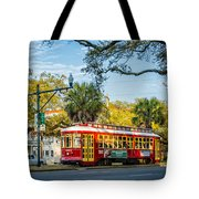 New Orleans - Canal St Streetcar 2 Tote Bag