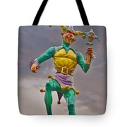 New Orleans - Canal Street Ferry Jester Tote Bag by Christine Till
