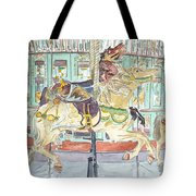 New Orleans Carousel Tote Bag