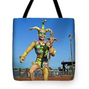New Orleans Clown French Quarters Tote Bag