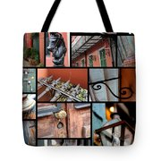 New Orleans Collage 2 Tote Bag