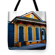 New Orleans Creole Cottage Tote Bag