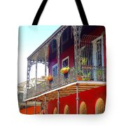 New Orleans French Quarter Architecture 2 Tote Bag