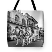 New Orleans Funeral Monochrome Tote Bag