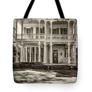 New Orleans Home - Paint Sepia Tote Bag