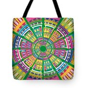 New Orleans House Roundel Tote Bag