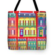 New Orleans Houses Tote Bag