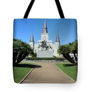 New Orleans - Jackson's Square Tote Bag
