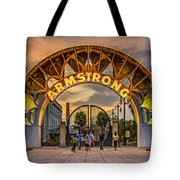 New Orleans Louis Armstrong Park  2 Tote Bag