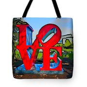 New Orleans Love 3 Tote Bag