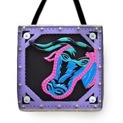 New Orleans Mardi Gras Cow Tote Bag